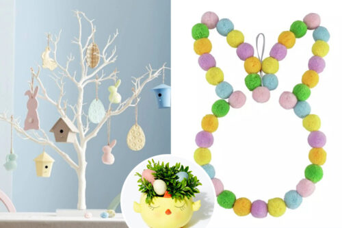 The best Easter trees, wreaths and decorations to buy now, from top brands including John Lewis, Argos, Aldi & Amazon