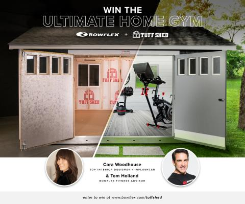 Nautilus, Inc.'s Bowflex Brand and Tuff Shed, Inc. Kick-off Giveaway for the Ultimate Home Gym in Conjunction with National Public Health Week