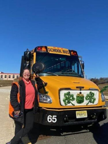 Bus 65 Driver Makes Students Smile With Holiday Decorations