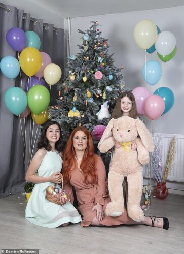 Five homeowners reveal their flamboyant Easter decorations