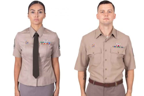 Soldiers Can Now Wear Awards on Class B Version of New Army Green Uniform