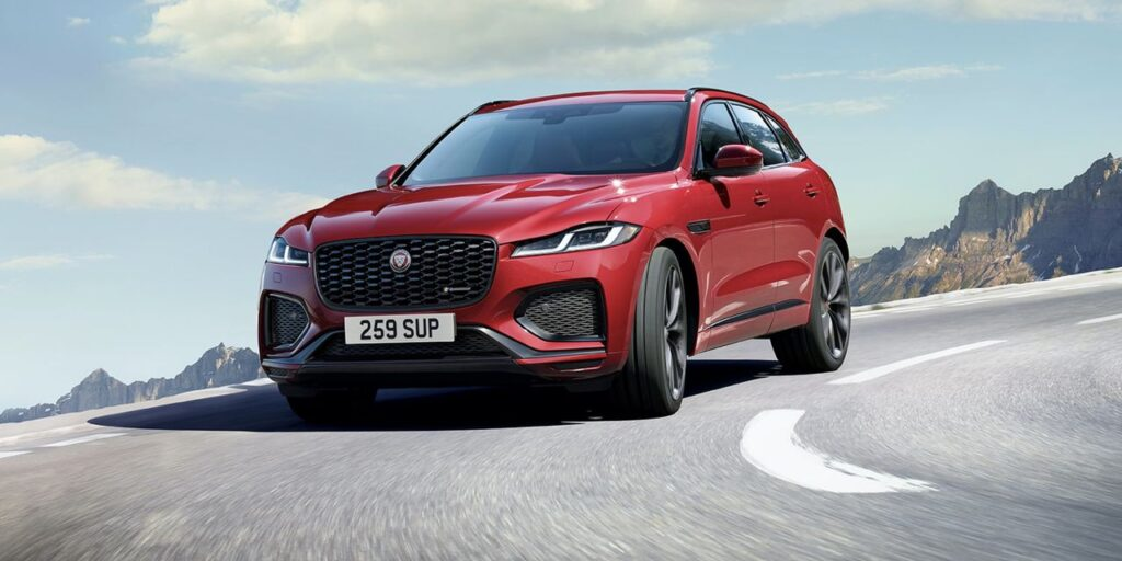 Tastefully restyled Jaguar F-Pace offers new engine choices and improved interior