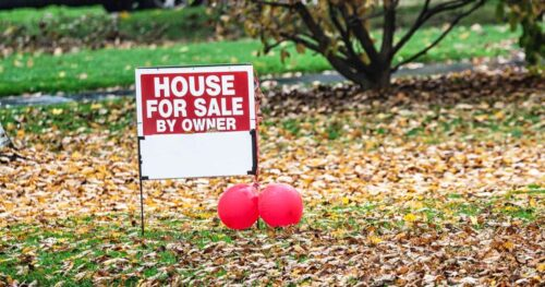 There are 40% fewer homes on the market than last year, report finds